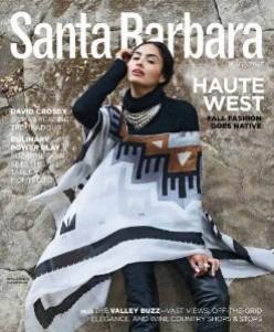 Santa Barbara magazine cover
